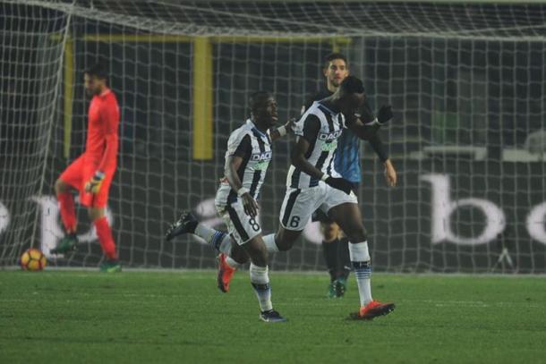 Atalanta-Udinese (1-3): highlights e gol della partita (Serie A 2016-2017, 16^ giornata)