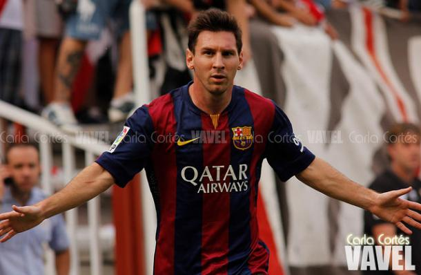 Messi anotó los dos primeros goles del Barcelona I Foto: Carla Cortés (VAVEL)