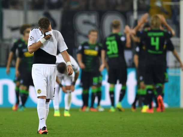 A tough night for Young Boys. | Photo: Kicker/Getty