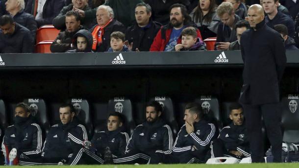 Zidane cuenta con grandes bazas en el banquillo.