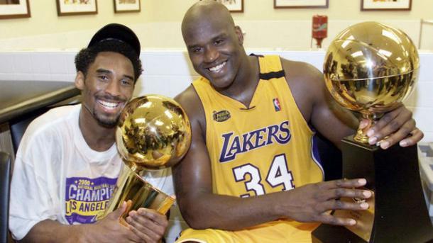 Shaquille y Kobe | Foto: NBA