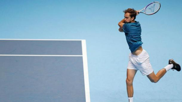 Medvedev has cooled off since his incredible run over the summer/Photo: AFP