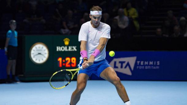 The SPaniard is still in contention for his first ATP Finals championship/Photo: Martin Cole