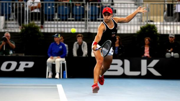 Barty survived a spirited challenge by Collins/Photo: AAP