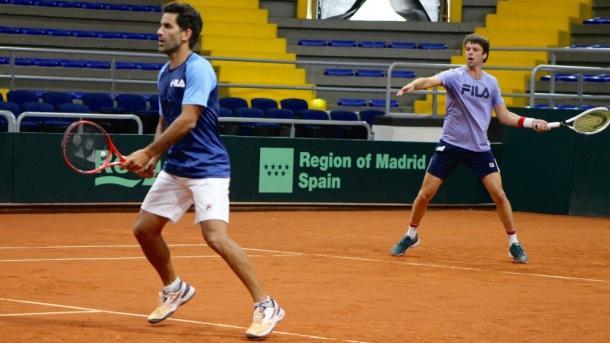  Horacio Zeballos (der) ya ha ganado un título esta temporada: el ATP 500 de Acapulco junto al español Marcel Granollers.  