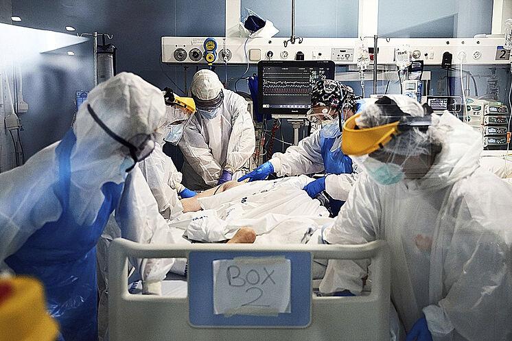 Unidad de Cuidados Intensivos durante la pandemia por Covid