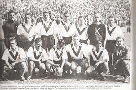 Plantel de Velez en el torneo de 1945 l Fuente: Somos Fortineros Fans