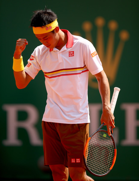 Kei Nishikori came out of nowhere to reach the final in Monte Carlo. Photo: Julian Finney/Getty Images