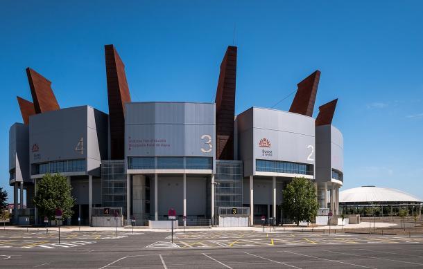 El estadio Fernando Buesa Arena es el hogar del Baskonia. | Fotografía: Wikicommons