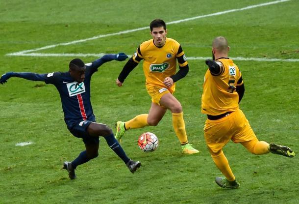 Matuidi et le PSG qualifiés sans briller (FFF)