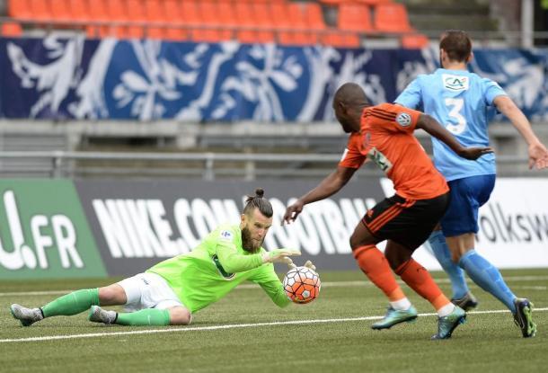 Quentin Wesberg n'aura pas démérité mais le Tours FC s'incline (FFF)