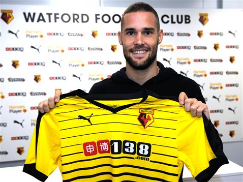 Mario Suarez signed for Watford earlier this summer. (Photo: Watford FC)
