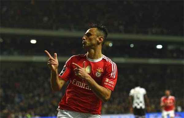 Jonas marcou o golo solitário que deu a vitória no Bessa (Fonte: Lusogolo)