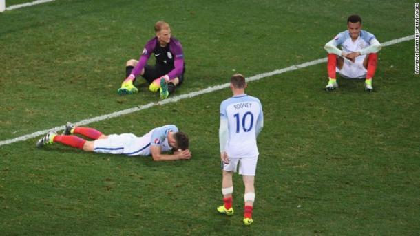 Le facce della sconfitta. (fonte immagine: getty images)