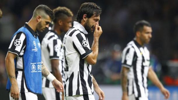 Pirlo in lacrime dopo la sconfitta nella finale di Berlino   Fonte immagine: Eurosport.