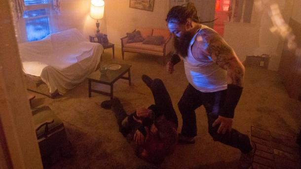Randy Orton and Bray Wyatt during their House of Horrors match at Payback. Photo credit: WWE.com