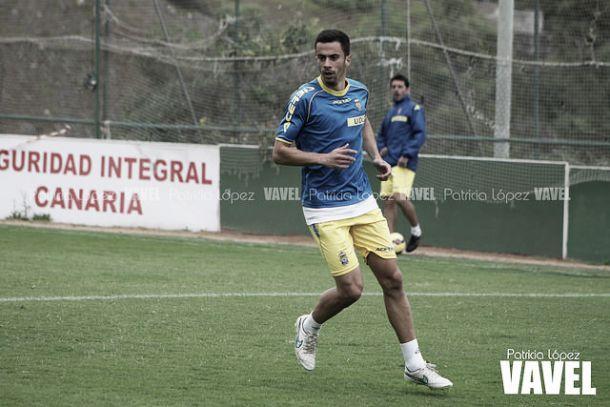 Hernán Santana durante su etapa en Gran Canaria. || Imagen: VAVEL