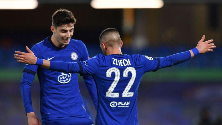 Un puesto estará en juego entre Havertz y Ziyech / FOTO: UEFA