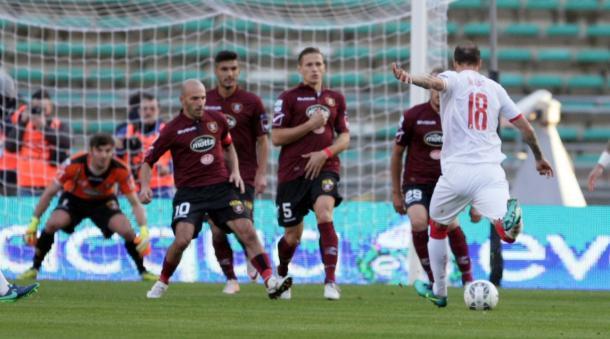 Il Bari vince contro la Salernitana |www.corrieredellosport.it
