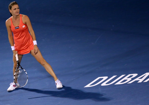 Radwanska pulls out | Photo courtesy of: Marwan Naamani (Getty Images)