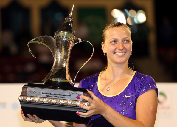 Kvitova the 2013 champion takes wildcard | Photo courtesy of : Julian Finney (Getty Images)