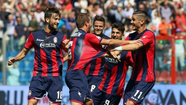 La gioia degli squali al goal di Rohden contro l'Udinese | Foto: Corriere dello Sport