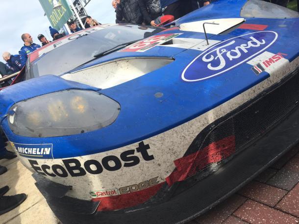 Ford superou mais ma vez a Ferrari. (Foto: IMSA)