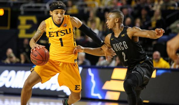 Boyd III picked up the slack after Rodriguez' injury/Photo: East Tennessee State athletics website