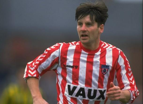 Paul Bracewell made over 100 appearances for the Black Cats. (Image source:The Chronicle)