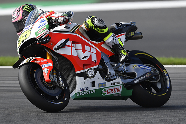 Crutchlow aboard his LCR Honda at the Red Bull Ring - www.lcrhonda.com
