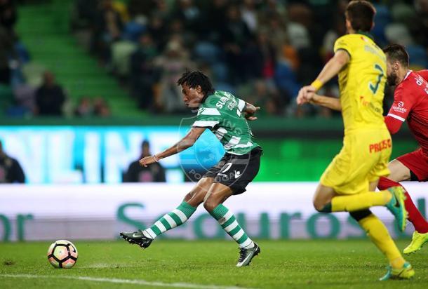Gelson voltou a marcar em Alvalade| Foto: César Santos - Facebook Oficial Sporting CP