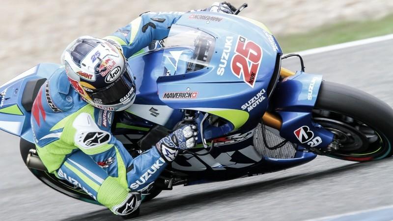Maverick Viñales, Team Suzuki MotoG / Fuente: MotoGP
