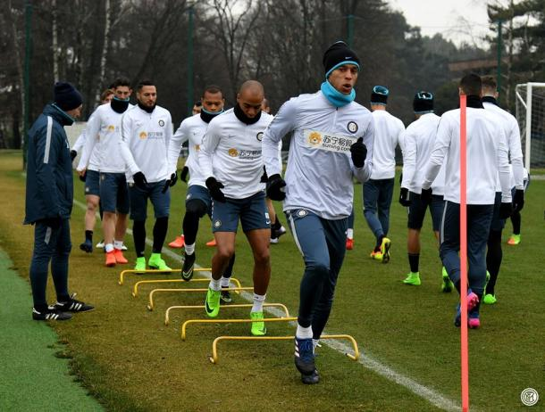 L'allenamento dell'Inter - Fonte: inter.it