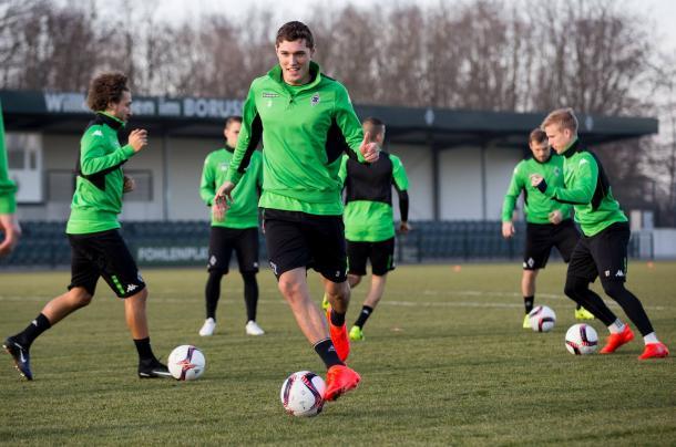 Allenamento Borussia - Fonte: http://www.borussia.de