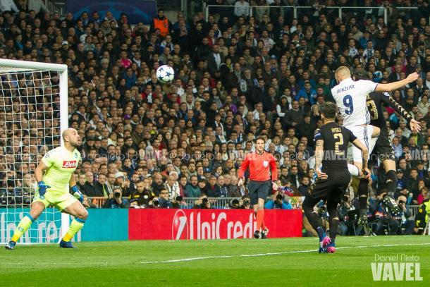 Il gol di Benzema | Daniel Nieto - VAVEL
