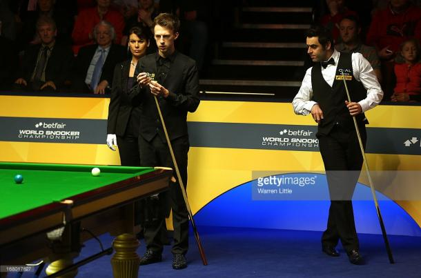 Trump and O'Sullivan should produce an exciting contest (photo: Getty Images)