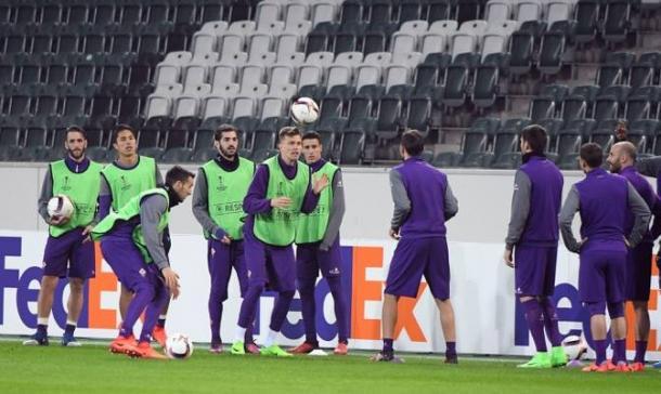Allenamento Fiorentina - Fonte: http://www.Violachannel.tv/
