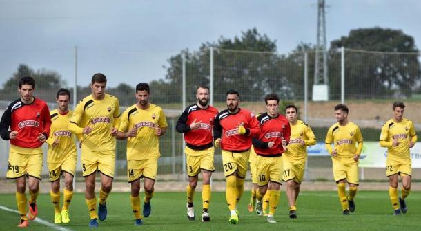 El CF Reus viaja a Cadiz con el objetivo de puntuar y recuperar su estilo de juego. (Foto: CF Reus)