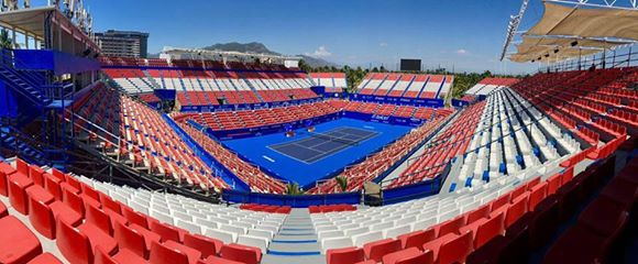 The Mexican Open will take place from February 27 to March 4. Photo: Abierto Mexicano Telcel / Jorge Reyes