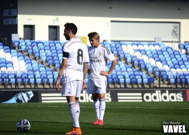 Martin Odegaard, ahora en la Real Sociedad, en su etapa en el Real Madrid Castilla | Foto: Nico Briceño, VAVEL España