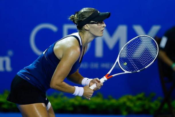 Mirjana Lucic-Baroni, the top seed, defeated Pauline Parmentier.  (Photo: Mextenis)