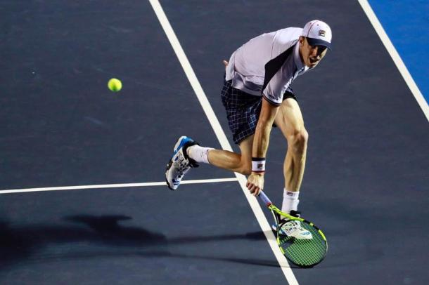 This is Sam Querrey's biggest title in his career. (Photo: Abierto Mexicano de Tenis)