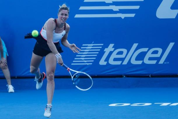 Pauline Parmentier outlasted Andrea Petkovic. (Photo: Mextenis)