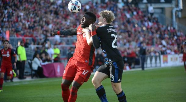 Jozy Altidore scored his 50th MLS goal today | Source: sportsnet.ca