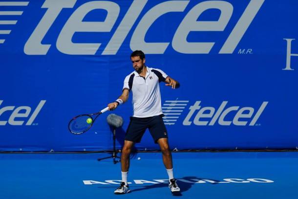 Marin Cilic defeats Borna Coric in three sets. (Photo: Mextenis)