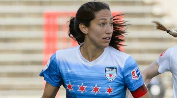 Press decided to leave the NWSL after being traded to Houston by Chicago | Source: fourfourtwo.com