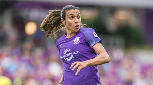 Marta continues to drive Orlando forward | Source: Jeremy Reper-ISI Photos