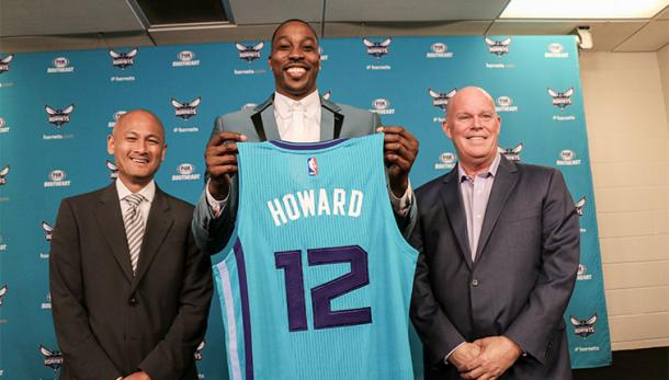 La presentazione di Dwight Howard. Fonte: NBA.com