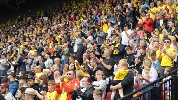 Silva afirmó que deberán crear una conexión cada vez que jueguen de local | Foto: Watford.