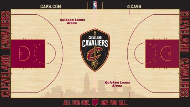 El parqué de los Cavaliers se reinventa. | Fotografía: cavs.com